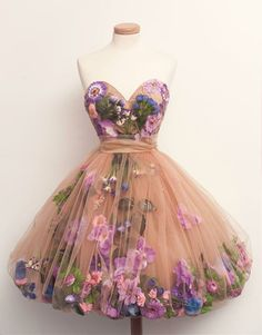 Chotronette - Botanical dress
