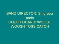 band jokes | color guard # sing your parts # marching band # band geek