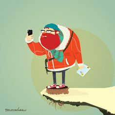 Where the wild hipsters are by Fernando León, via Behance