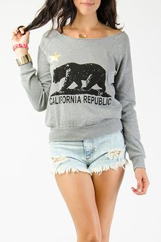 California Republic Graphic Pullover $11.99