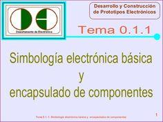 Desarrollo y Construcción de Prototipos Electrónicos  Tema 0.1.1  Simbología electrónica básica y encapsulado de component...