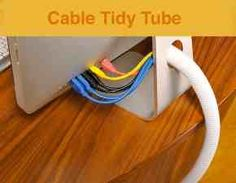 Cable tidy pins