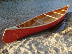 Wood and canvas, they will always be the best. Have you ever paddled one of these? Don't do plastic boats! Canoe Camping, Canoe Boat, Canoe And Kayak, Canoe Shop, Canoe Club, Canadian Canoe, Wood Canoe, Old Tools, Water