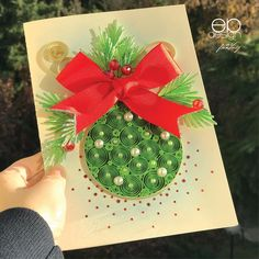 Quilling Cards, Paper Quilling, Quilling Christmas, Quilling Patterns, Baroque Pearls, Work Inspiration, Diy Paper, Diy Tutorial, Snowflakes