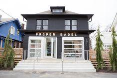 The new Proper Bagel restaurant on Belmont Blvd. #Nashville #MusicCity