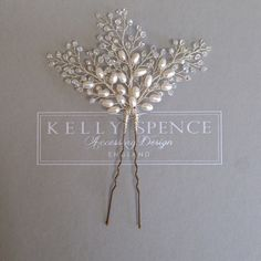 Bethany Hairpin – Kelly Spence Bridal Accessories
