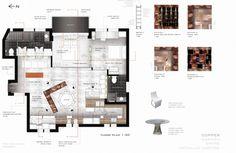 residential interior presentation