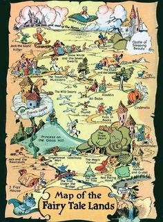 Map of Fairy Tale Lands
