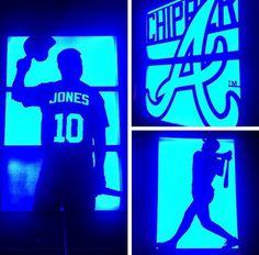 Chipper Jones, Braves Baseball, Atlanta Braves, Diamond Are A Girls Best Friend, Best Friends, Concert, Career, Idol, Diamonds