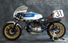 Cook Nielsen rode Old Blue and did quite well on it back in the day......