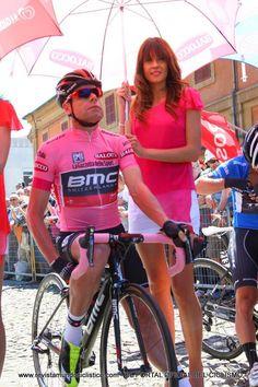 Cadel Evans at the Giro d'Italia with BMC