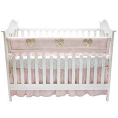 product image for Lambs & Ivy® Sweetheart Rail Guard in Pink/Gold