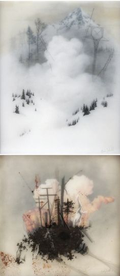 The Jealous Curator /// curated contemporary art /// brooks salzwedel Illustrations, Illustration Art, Encaustic Painting, Art Abstrait, Art Graphique, 2d Art, Art Plastique, Medium Art, Love Art