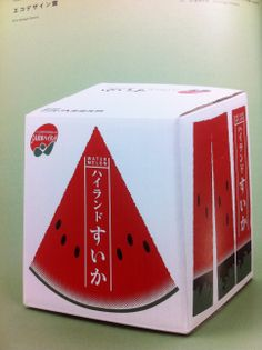 Wonder if there is a #watermelon inside this #packaging PD