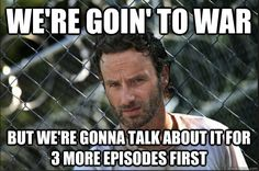 Funny pictures about The Walking Dead lately. Oh, and cool pics about The Walking Dead lately. Also, The Walking Dead lately. Walking Dead Funny, Walking Dead Season, The Walking Dead Saison, Fear The Walking Dead, Michael Rooker, Z Nation, Rick Grimes, E Cards, The Walk Dead