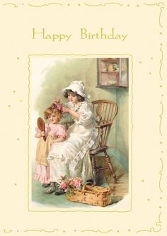 victorian birthday cards | Victorian Birthday Images