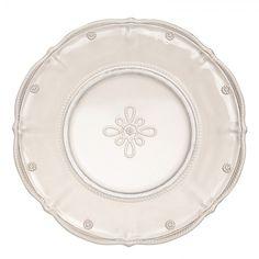 Juliska Glassware & Ceramics :: Juliska Glassware :: Hand Pressed Glassware :: Colette Dessert Plate - Cornelia Park: MacKenzie-Childs Furniture, Ceramics, Gifts and