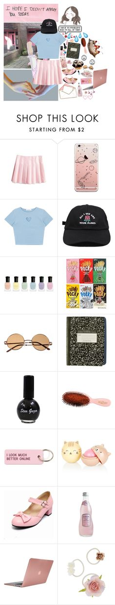 """""""🤤"""" by ideallylovely ❤ liked on Polyvore featuring Hello Kitty, Deborah Lippmann, Mason Pearson, Various Projects, H0les, Incase and Dorothy Perkins"""