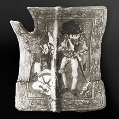 Late Medieval tournament shieldmy. Unknown origin, date and actual location. Armoury.com