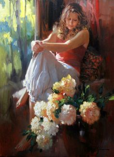 Richard S Johnson | Beautiful young lady..
