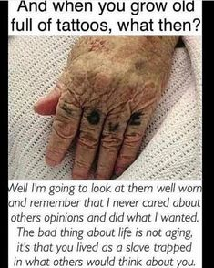 Live your life and don't waste time worrying about what people think about y tattoos sleeve - tattoo Bild Tattoos, Body Art Tattoos, Small Tattoos, Tatoos, Cool Tattoos For Girls, Random Tattoos, Hidden Tattoos, Tiny Finger Tattoos, Lyric Tattoos