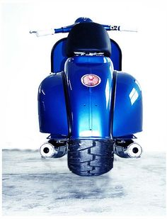 Fat Tire Twin Vespa!!!