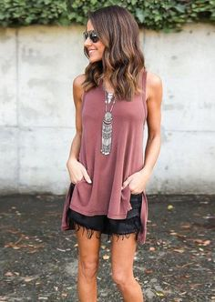 """**Size small is 31.9"""" from Shoulder to hemline. Product Description: Casual Tank, Slight V-Neck, Hood, Material: Cotton,Polyester,Spandex S M L XL XXL BUST 33.8"""" 35.4"""" 37"""" 38.5"""" 40"""" LENGTH 31.9"""" 32.6"""""""
