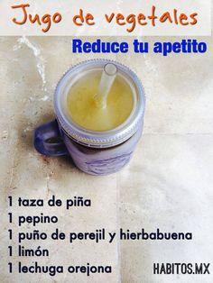 Reduce tu apetito