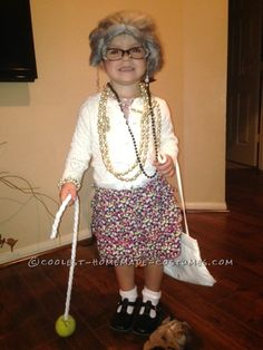 Coolest 1000+ Homemade Costumes You Can Make! Granny Halloween Costume f6cfabbaf4