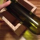 Want to cut wine bottles? Build this jig!    I think I will use this design, but make it longer and adjustable.