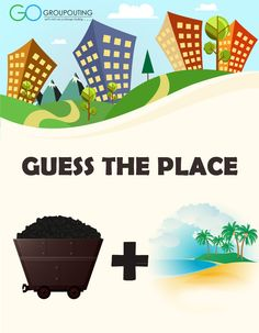 Can you #guessthecity pictured below??? #GroupOuting #GoGroupOuting