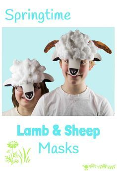 PAPER PLATE LAMB AND