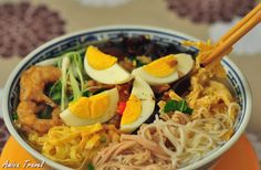 Bun thang Hanoi - Soupe au poulet