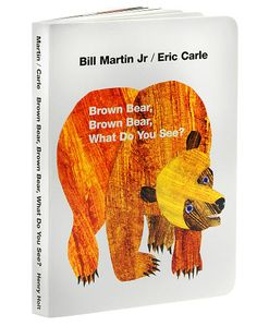 Storytime Standouts writes about classic picture book, Brown Bear, Brown Bear, What Do You See? written by Bill Martin Jr. and illustrated by Eric Carle. Eric Carle, What Do You See, Just For You, Books To Read, My Books, Story Books, Bill Martin, Early Intervention, Lectures