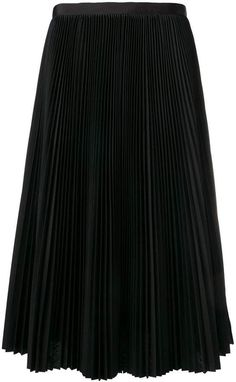 H&m Shorts, Pleated Midi Skirt, Cotton Skirt, Mid Length, Black Cotton, Cool Designs, Women Wear, Feminine, My Style