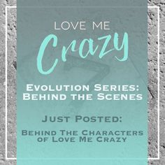 Want to know the whats and what nots of the contemporary romance Love Me Crazy by Camden Leigh? Access Week 1 of the Evolution Series: Behind the Scenes of Love Me Crazy and learn about the characters...who did and didn't exist in the first drafts. The series contains never before seen cut scenes, character studies and why certain elements were chosen for Cassidy & Quinn's new adult southern love story. This book is available for download at Amazon http://amzn.to/2d29glZ  Available on…