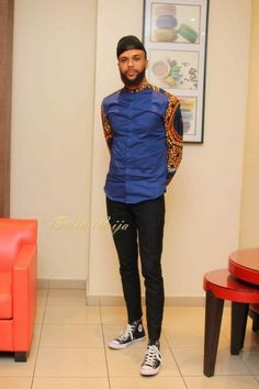 If you're on a search for Nigerian Ankara styles for men that will turn you into a best-dressed man anywhere you go,you are on the site,Cos we have the latest and most elegant Ankara styles for men that will give you that great look you desire. Nigerian Men Fashion, African Print Fashion, Fashion Prints, Fashion Design, African Clothing For Men, African Shirts, Best Dressed Man, Well Dressed, African Attire