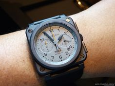 Baselworld 2015: Introducing the Bell & Ross BR 03-94 Rafale Limited Edition