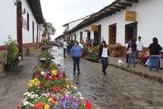 like the downtown of Mazamitla