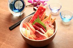 This guide to Singapore's Top 10 Chirashi-don was last updated on 21 Feb 2015. Happiness in a bowl - this is how we define chirashi-don, which is essential
