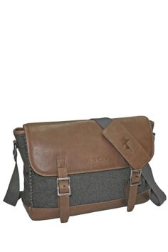 Robert Graham Potter Wool Felt Messenger Bag