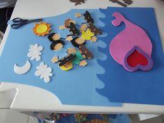 Taty Amaral Ministério Infantil: Avental de Histórias