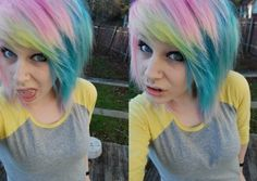 Comment if you want me to dye your hair like this :3