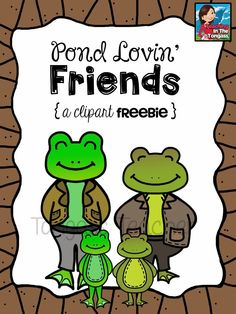 FREE TpT Followers Exclusive: Pond Lovin' Friends Freebie!