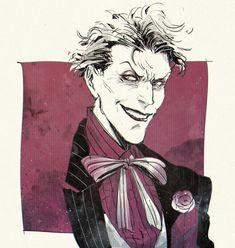 Glitter and Gold Joker Comic, Joker Pics, Joker Art, Comic Character, Character Design, Javier Marin, Comic Book Collection, Batman Family, Joker And Harley Quinn