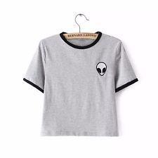 Alien Tumblr T-Shirt Top