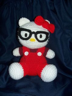 Free Hello Kitty Crochet Pattern!