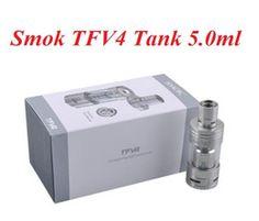 Smok TFV4 Tank Quadruple Coil Top Refill Sub Ohm Tank RBA Atomizers Smoktech TFV 4 VS mini nautilus tank Atlantis V2 Tank