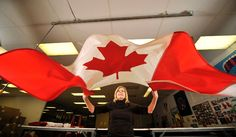 Moments after the national symbol is created, Julie Reynolds of Flags Unlimited in Barrie gives a Canadian flag a final shake before cleaning during her shift at one of the largest flag manufactures in the country. Cool Countries, Countries Of The World, National Symbols, Great Photos, Canadian Flags, Canada, Country, Celebrities, Shake