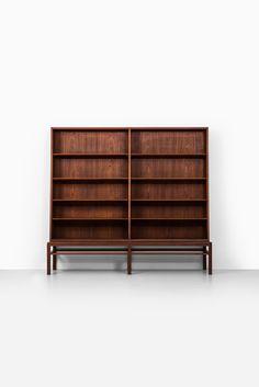 Johan Hagen bookcase in teak at Studio Schalling